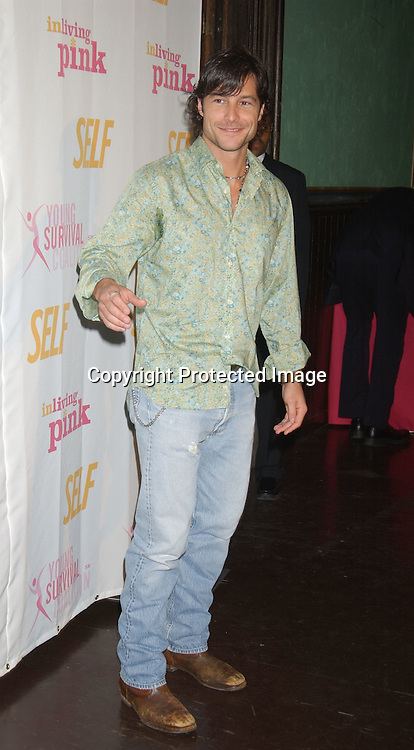 Mark Collier                               ..at the Self Magazine party for the Young Survival Coalition's 5th Anniversary  on October 9, 2003 at ..Angel Orensanz Foundation...Photo By Robin Platzer, Twin Images