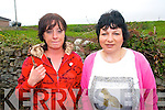 Celebrating Ballyheigue Pattern day on Thursday from l-r were: Ann Flaherty and Joanne Husig from Ballyheigue