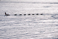 M Williams Mushes on Yukon Rvr @ Galena 2000 Iditarod AK