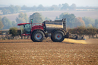 Pre-emergence spraying on Winter Wheat<br /> &copy;Tim Scrivener Photographer 07850 303986<br />      ....Covering Agriculture In The UK....