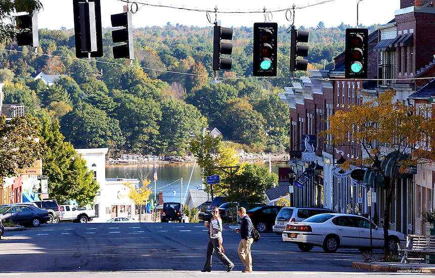 Area shots in Belfast, ME, Tuesday, Sept. 25, 2012.(Cheryl Senter  /AP Images for Maine Office of Tourism)