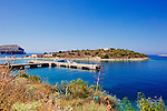 Porto Palermo Bay. Albania Road trip July 2016