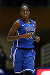 26 October 2014: Amber Henson. The Duke University Blue Devils held their annual Blue-White Game at Cameron Indoor Stadium in Durham, North Carolina in preparation of the upcoming 2014-15 NCAA Division I Women's Basketball season.