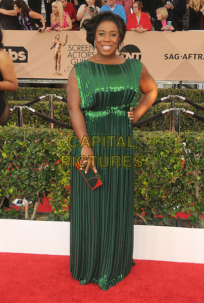 30 January 2016 - Los Angeles, California - Uzo Aduba. 22nd Annual Screen Actors Guild Awards held at The Shrine Auditorium.      <br /> CAP/ADM/BP<br /> &copy;BP/ADM/Capital Pictures