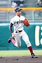 Akira Neo (),<br /> MARCH 25, 2017 - Baseball :<br /> 89th National High School Baseball Invitational Tournament first round game between Ube Kojo 0-11 Osaka Toin at Koshien Stadium in Hyogo, Japan. (Photo by BFP/AFLO)