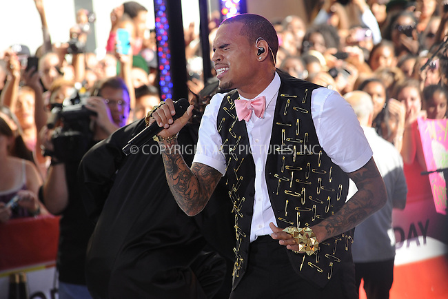 WWW.ACEPIXS.COM . . . . . .July 15, 2011...New York City...Chris Brown performs on NBC's 'Today' at Rockefeller Center on July 15, 2011 in New York City.....Please byline: KRISTIN CALLAHAN - ACEPIXS.COM.. . . . . . ..Ace Pictures, Inc: ..tel: (212) 243 8787 or (646) 769 0430..e-mail: info@acepixs.com..web: http://www.acepixs.com .