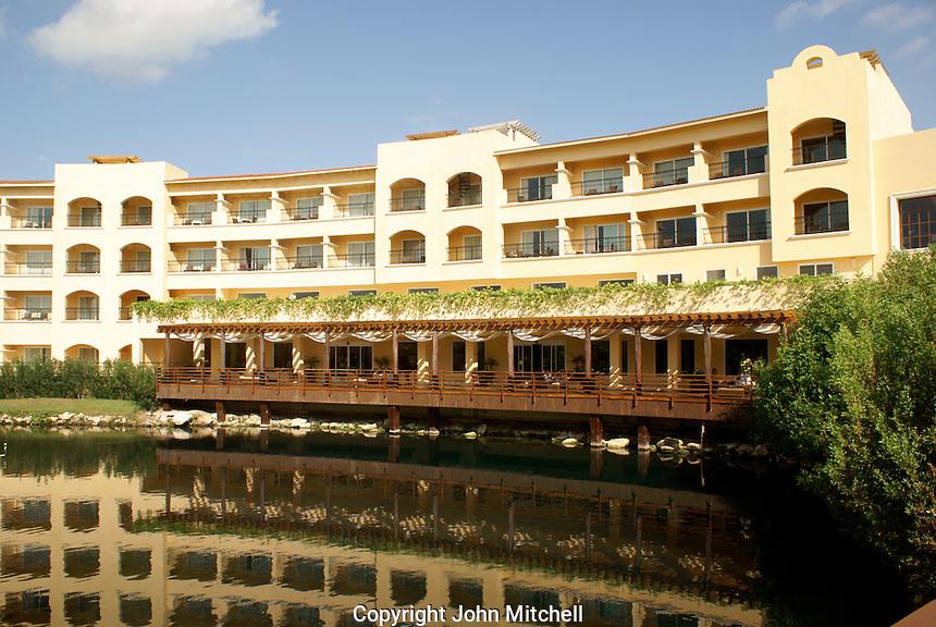 Hacienda Tres Rios, an eco-luxury resort on the Riviera Maya, Quintana Roo, Mexico.