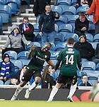 Christian Nade celebrates his goal