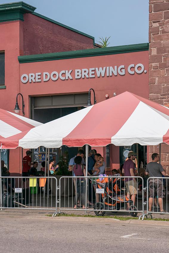 Event at Ore Dock Brewing Company in Marquette, Michigan