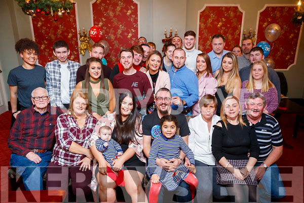 Ray Barry, Manor, Tralee, who celebrated his 30th birthday with family and friends at the Imperial hotel, Tralee on Saturday night last.