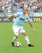 1st October 2017, Stadio Olimpico, Rome, Italy; Serie A football, Lazio versus Sassuolo; Luis Alberto looks for a forward outlet