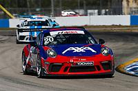 #20 Wright Motorsports, Porsche 991 / 2017, GT3P: Fred Poordad (M)