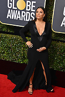 Eva Longoria at the 75th Annual Golden Globe Awards at the Beverly Hilton Hotel, Beverly Hills, USA 07 Jan. 2018<br /> Picture: Paul Smith/Featureflash/SilverHub 0208 004 5359 sales@silverhubmedia.com