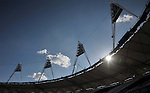 25/07/2013 - Sainsburys Anniversary Games - Athlete training - Olympic Stadium - London