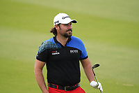 Victor Dubuisson (FRA) on the 9th during Round 1 of the Oman Open 2020 at the Al Mouj Golf Club, Muscat, Oman . 27/02/2020<br /> Picture: Golffile   Thos Caffrey<br /> <br /> <br /> All photo usage must carry mandatory copyright credit (© Golffile   Thos Caffrey)