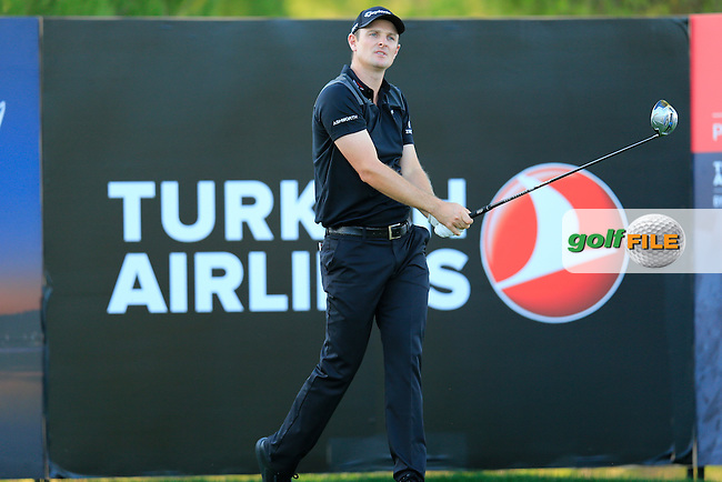 Justin Rose (ENG)  during round 2 of the Turkish Airlines Open presented by the Ministry of Tourism and Culture, hosted at the The Montgomerie Maxx Royal,Antalya,Turkey.<br /> Picture: Fran Caffrey www.golffile.ie