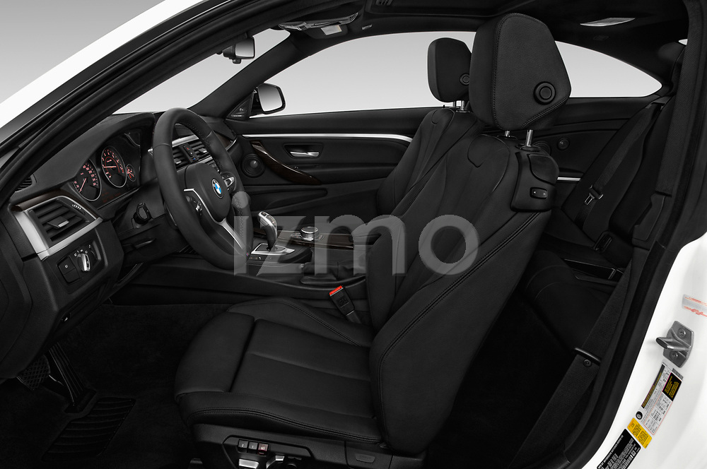 Front seat view of a 2019 BMW 4 series M Sport 2 Door Coupe front seat car photos
