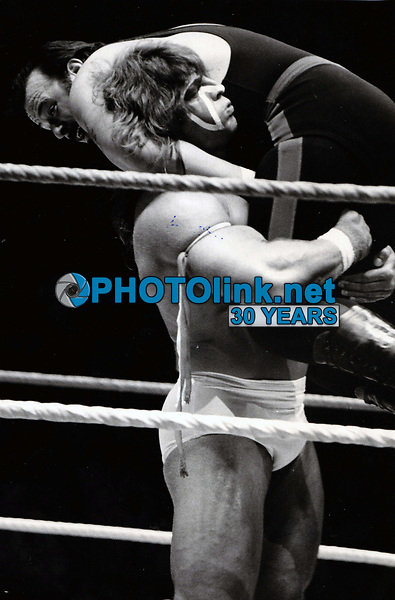 The Ultimate Warrior (James Brian Hellwig) circa 1980's<br /> John Barrett/PHOTOlink.net