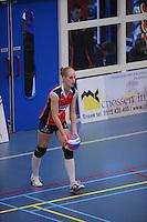 VOLLEYBAL: SNEEK: Sneker Sporthal, DELA League Play-Off Finale, 4e wedstrijd, 01-04-2012, VC Sneek DS1 - Sliedrecht Sport DS1, eindstand 1-3, Fenna Zeinstra (#3 | VC Sneek), ©foto Martin de Jong
