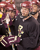 Tim Filangieri - Boston College's morning skate on Saturday, December 31, 2005 at Magness Arena in Denver, Colorado.  Boston College defeated Princeton that night to win the Denver Cup.