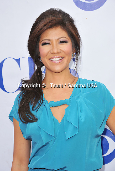 Julie Chen  at the CBS party on the lot, for The Millers, We Are Men, TV Diner in Studio City Los Angeles.