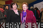 Veronica Houlihan (Dingle) and Mary Greaney (Annascaul) enjoying the Dingle Film Festival over the weekend.