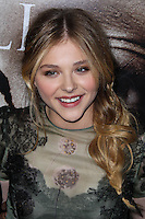 "HOLLYWOOD, CA - OCTOBER 07: Actress Chloe Grace Moretz arrives at the Premiere Of Metro-Goldwyn-Mayer Pictures & Screen Gems' ""Carrie"" held at ArcLight Cinemas on October 7, 2013 in Hollywood, California. (Photo by Xavier Collin/Celebrity Monitor)"