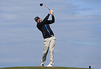 Andy Rideout during Round Two of the West of England Championship 2016, at Royal North Devon Golf Club, Westward Ho!, Devon  23/04/2016. Picture: Golffile | David Lloyd<br /> <br /> All photos usage must carry mandatory copyright credit (&copy; Golffile | David Lloyd)