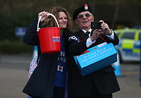 poppy Appeal<br /> <br /> Photographer Rachel Holborn/CameraSport<br /> <br /> The Premier League - Saturday 10th November 2018 - Leicester City v Burnley - King Power Stadium - Leicester<br /> <br /> World Copyright &copy; 2018 CameraSport. All rights reserved. 43 Linden Ave. Countesthorpe. Leicester. England. LE8 5PG - Tel: +44 (0) 116 277 4147 - admin@camerasport.com - www.camerasport.com