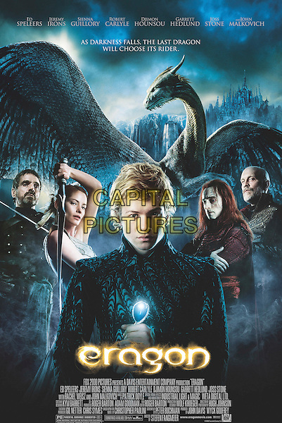 POSTER ART.in Eragon .**Editorial Use Only**.CAP/FB.Supplied by Capital Pictures