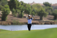 Matthew Southgate (ENG) on the 18th during the 1st round of the DP World Tour Championship, Jumeirah Golf Estates, Dubai, United Arab Emirates. 15/11/2018<br /> Picture: Golffile | Fran Caffrey<br /> <br /> <br /> All photo usage must carry mandatory copyright credit (&copy; Golffile | Fran Caffrey)