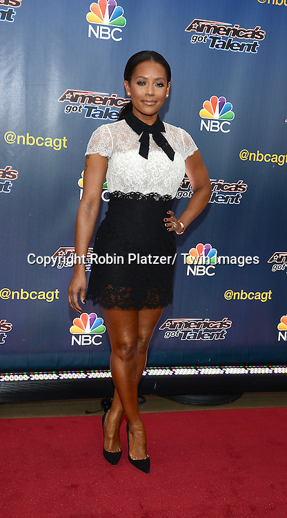 "Mel B attends the kick off  of Season 9's live voting rounds of ""America's Got Talent""  at Radio City Music Hall on July 29, 2014 in New York City."