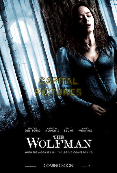 AMERICAN POSTER ART.in The Wolfman (2010).*Filmstill - Editorial Use Only*.CAP/FB.Supplied by Capital Pictures.