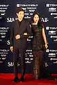 Choi Woo-Shik and Choi Hee, Oct 28, 2014 : South Korean actor Choi Woo-shik (L) and announcer Choi Hee arrive before the 2014 Style Icon Awards (SIA) in Seoul, South Korea. The SIA is a style and culture festival. (Photo by Lee Jae-Won/AFLO) (SOUTH KOREA)