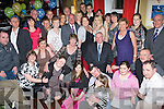 60TH CELEBRATIONS: Tom Roche (Centre), originally from Kevin Barry Villas, having a wonderful time with family and friends at his 60th birthday party held in the Abbey Gate Hotel on Saturday night.   Copyright Kerry's Eye 2008