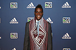January 17th, 2013: #6 draft pick Deshorn Brown (JAM), selected by the Colorado Rapids. The 2013 MLS SuperDraft was held during the NSCAA Annual Convention held in Indianapolis, Indiana.