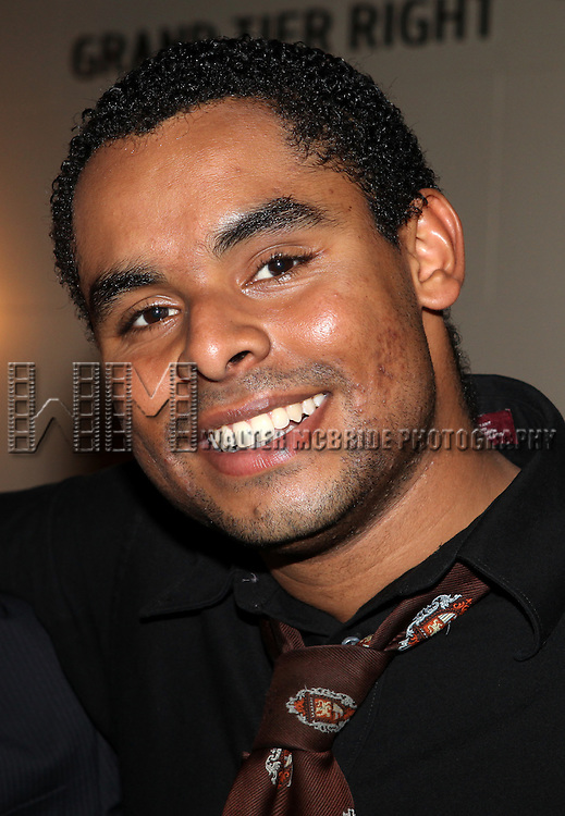 Phillip Attmore.attending the reception for the final performance of the New York City Center ENCORES! Production of 'Gentlemen Prefers Blondes' at City Center in New York City on 5/13/2012.