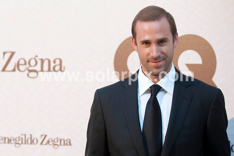 **ALL ROUND PICTURES FROM SOLARPIX.COM**                                             **WORLDWIDE SYNDICATION RIGHTS EXCEPT SPAIN - NO SYNDICATION IN SPAIN**                                                                                  Caption: Actor Joseph Fiennes and his wife Maria Dolores Dieguez and Anna Zegna attends the GQ elegant Men of the year Awards 2011, held at the Italian Embassy, Madrid, Spain. 28 June 2011.                                                                          This pic: Joseph Fiennes and his wife Maria Dolores Dieguez                                                                                         JOB REF: 13639 DMS Drake      DATE: 28_06_2011                                                           **MUST CREDIT SOLARPIX.COM OR DOUBLE FEE WILL BE CHARGED**                                                                      **MUST AGREE FEE BEFORE ONLINE USAGE**                               **CALL US ON: +34 952 811 768 or LOW RATE FROM UK 0844 617 7637**