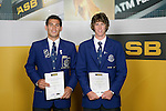 Tennis Boys Finalists. ASB College Sport Young Sportsperson of the Year Awards 2006, held at Eden Park on Thursday 16th of November 2006.<br />