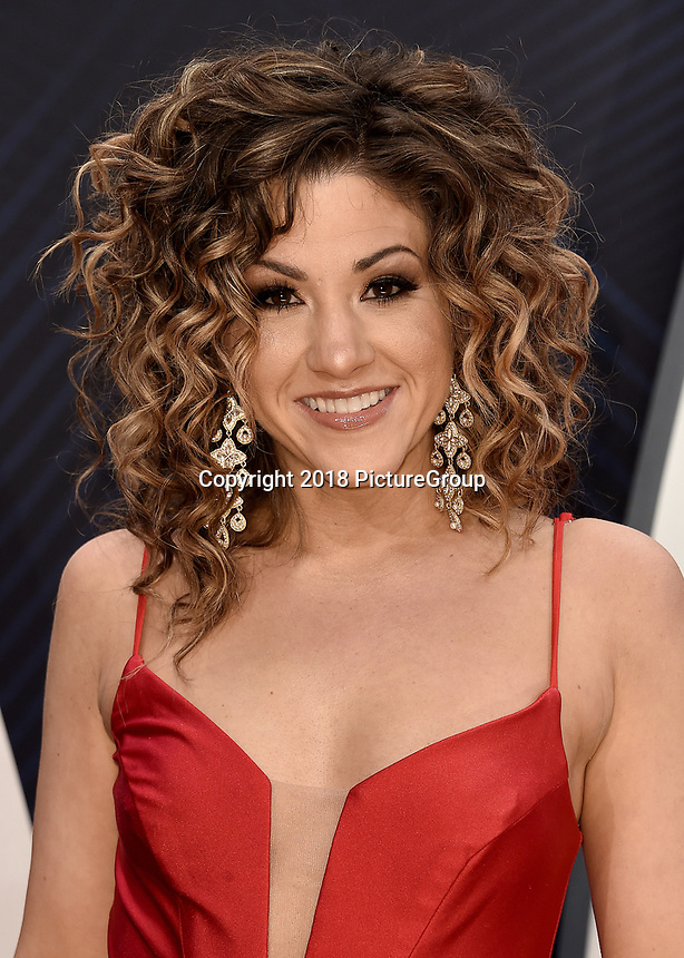 NASHVILLE, TN - NOVEMBER 14:  Jamie Floyd at the 52nd Annual CMA Awards at the Bridgetone Arena on November 14, 2018 iin Nashville, Tennessee. (Photo by Scott Kirkland/PictureGroup)