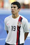 06 July 2007: USA's Tony Beltran. The Under-20 Men's National Team of the United States defeated Brazil's Under-20 Men's National Team 2-1 in a Group D opening round match at Frank Clair Stadium in Ottawa, Ontario, Canada during the FIFA U-20 World Cup Canada 2007 tournament.