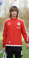 20151128 - Tubize , Belgium : German Lena Sophie Oberdorf pictured during the female soccer match between Women under 16 teams of  Belgium and Germany , in Tubize . Saturday 28th November 2015 . PHOTO DIRK VUYLSTEKE