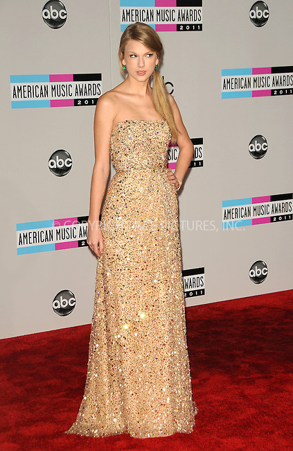 WWW.ACEPIXS.COM . . . . .  ....November 20 2011, LA....Taylor Swift arriving at the 2011 American Music Awards at the Nokia Theater at L.A. Live on November 20, 2011 in Los Angeles, California. ....Please byline: PETER WEST - ACE PICTURES.... *** ***..Ace Pictures, Inc:  ..Philip Vaughan (212) 243-8787 or (646) 679 0430..e-mail: info@acepixs.com..web: http://www.acepixs.com
