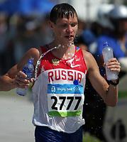 Aug 22, 2008, Beijing, China, Dennis Nizhegorodov of Russia bronze medal in the Men's 50km walk during the Beijing 2008 Olympic Games.Marcia 50 Km<br /> Olimpiadi Pechino 2008<br /> Foto Cspa/Insidefoto
