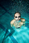 Hershey High School swimmer David Nolan on October 22, 2010 in Hershey, Pennsylvania...2010 © Steve Boyle