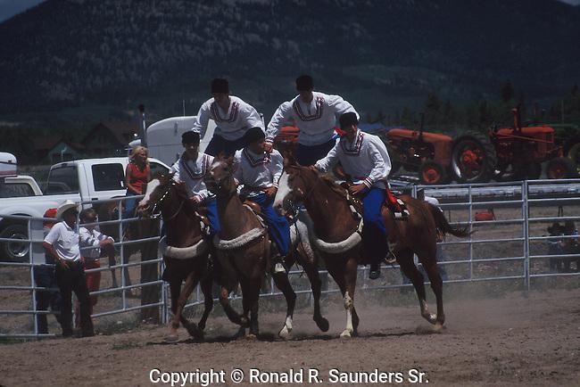 HORSE SHOW AT PARK COUNTY FAIR