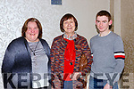 Ann, Margaret and Michael O'Donoghue at the Muckross Concert in the Killarney Oaks Hotel on Thursday night