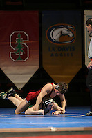 26 February 2006: Stanford's Tanner Gardner during the Pac-10 Wrestling Championships at Maples Pavilion in Stanford, CA.