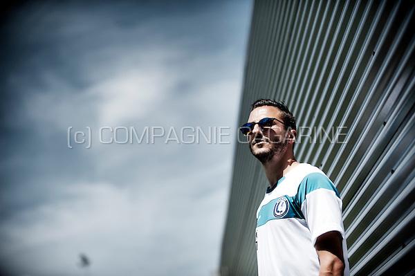 Swiss football player Danijel Miličević (Belgium, 29/06/2015)