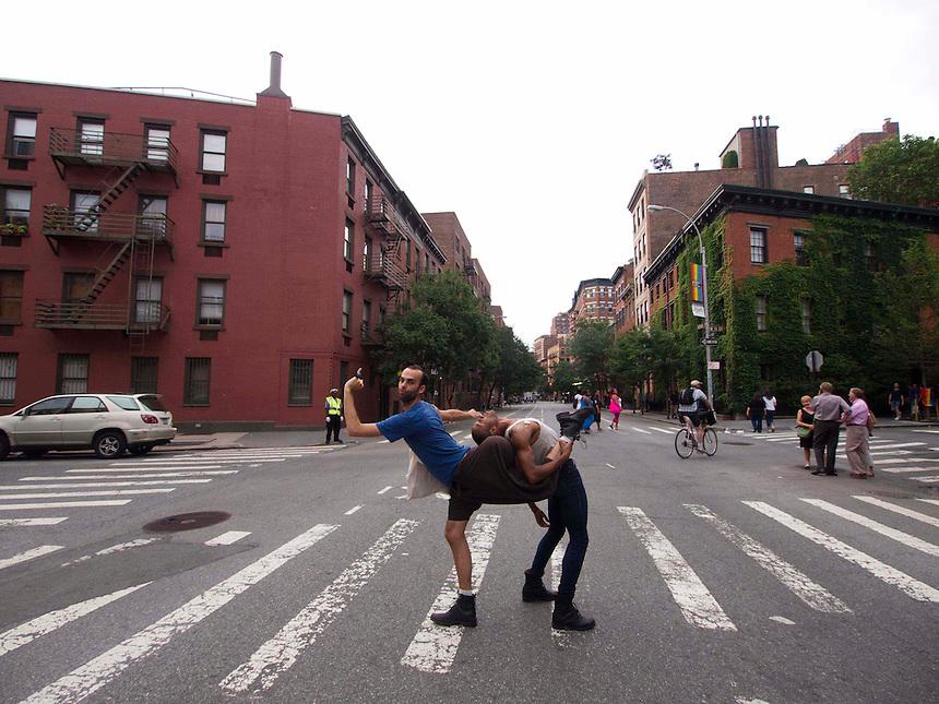 Michael Hart and Davon Rainey | Photo By Ryan Tracy | Pride 2011 | NY, NY | 2011